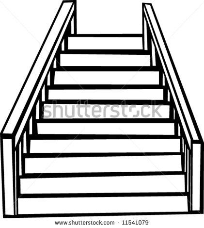 stairway clipart