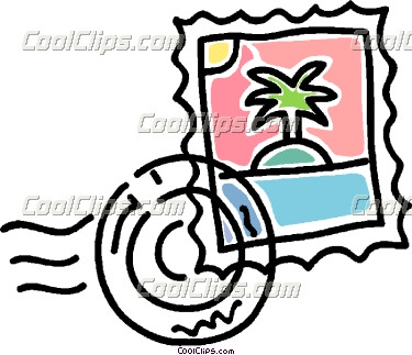 Stamp Clipart Postage Stamp .