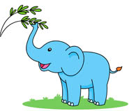 Standing Baby Elephant Clipart. Size: 38-standing baby elephant clipart. Size: 38 Kb-19