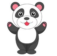 standing panda clipart. Size: 57 Kb-standing panda clipart. Size: 57 Kb-16