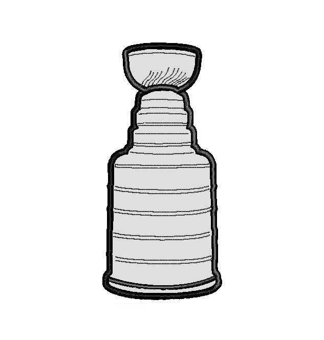 Stanley Cup Vector. Nhl embroidery   Etsy