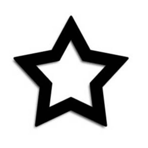 Star Clip Art Black And White-star clip art black and white-9