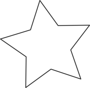 Star Clipart Black And White-star clipart black and white-15