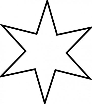 Star Outline Clipart-star outline clipart-11