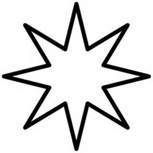 Star Black White Free-Star Black White Free-13