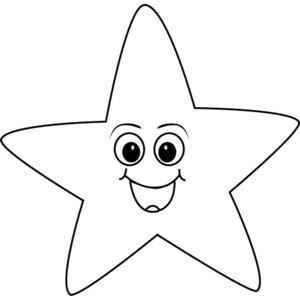Star Clip Art Black And White-Star Clip Art Black and White-14