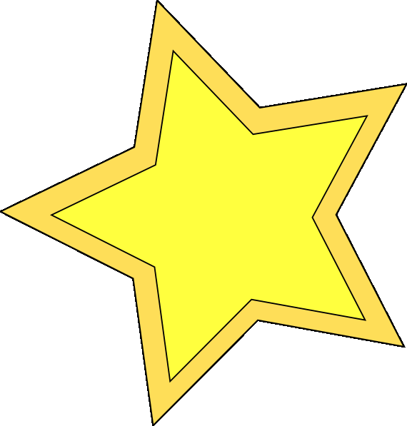 Star clip art image free clipart image