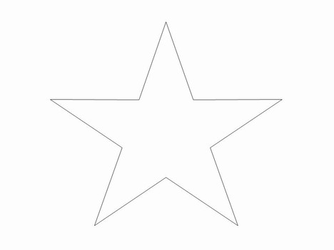 Star Clip Art in easy .