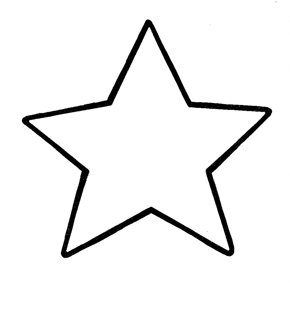 Star Clip Art Outline Free Clipart Images