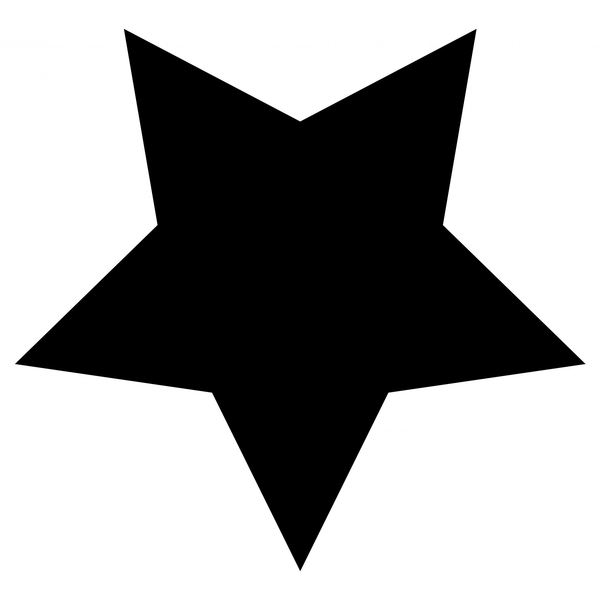 Black Star Clipart