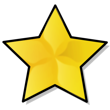 Free Gold Star Clipart - Public Domain Gold Star clip art, images