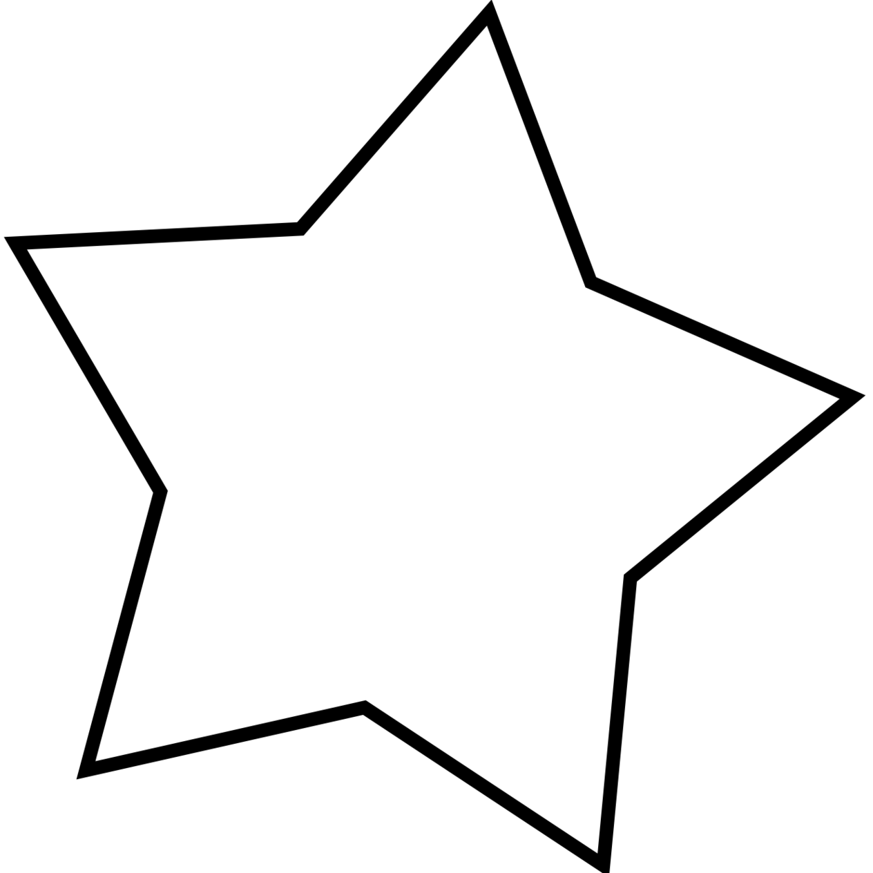 Star Clipart Png Black And White Clipart-star clipart png black and white clipartall-14