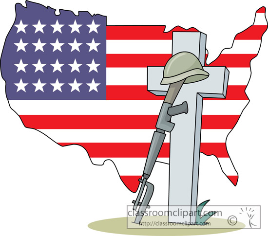 Star Flag Memorial Day Clipart