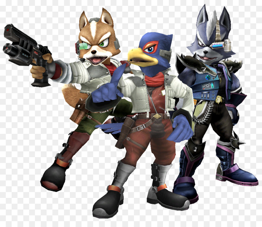 Star Fox Zero Super Smash Bros. Brawl Gray wolf Falco Lombardi - Star Fox