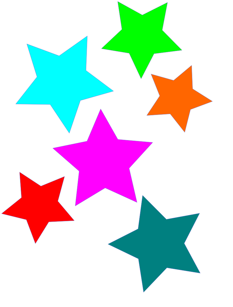 Star free to use clipart