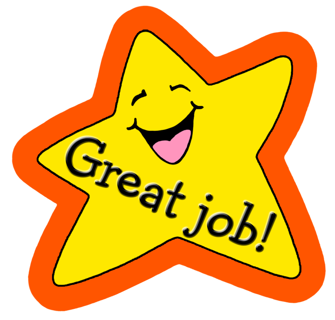 Star Great Job Clipart