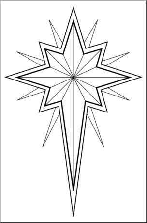 Star Of Bethlehem Clipart Free. Religiou-Star Of Bethlehem Clipart Free. Religious Christmas Star Clip .-15