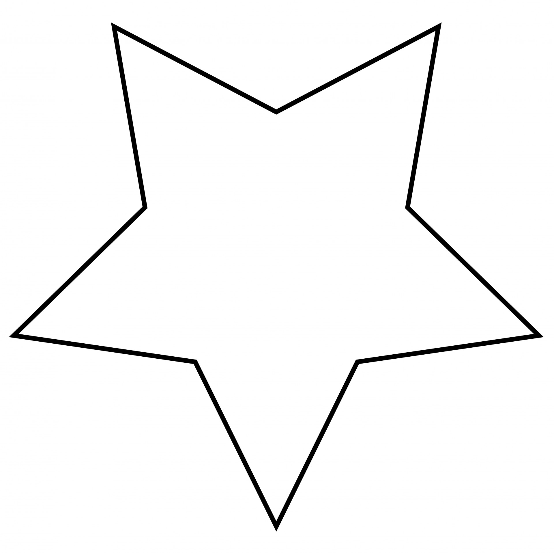 Star Outline Clipart