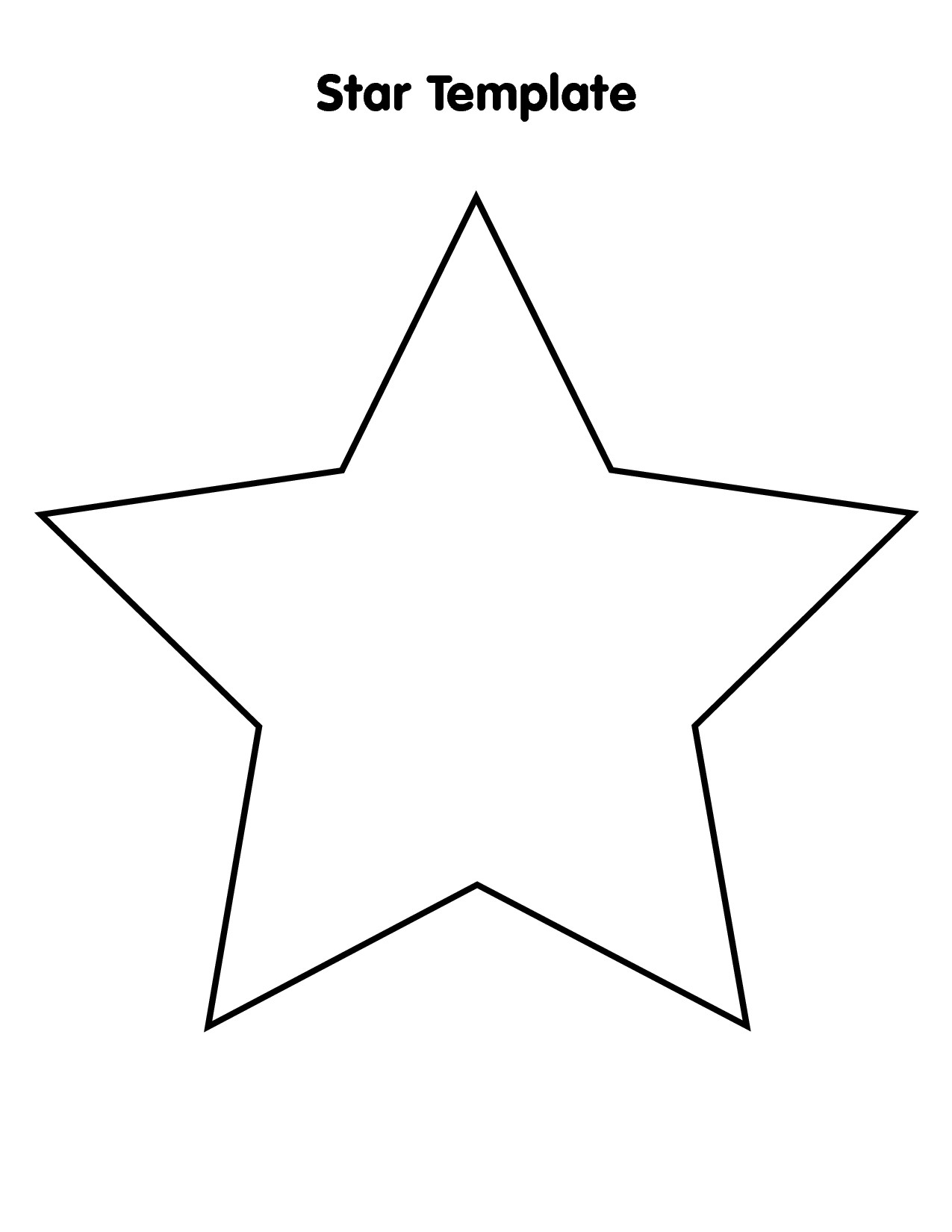 Star outline images large star outline related keywords clipart