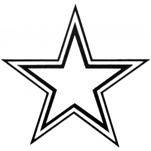 Star outline images perfect .