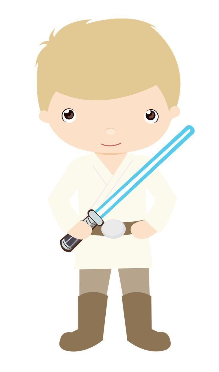 Crossed light sabers Clip Art