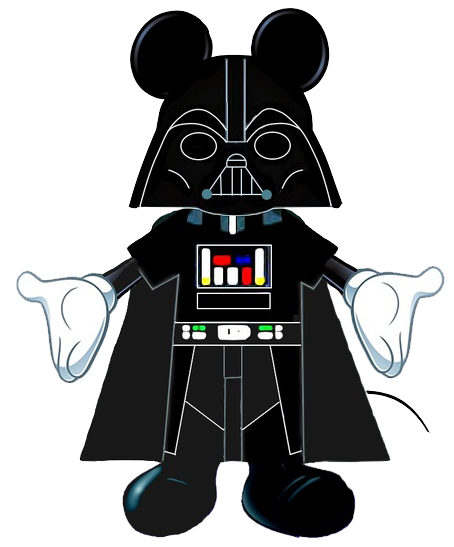 Star Wars Mickey Mouse Clipart