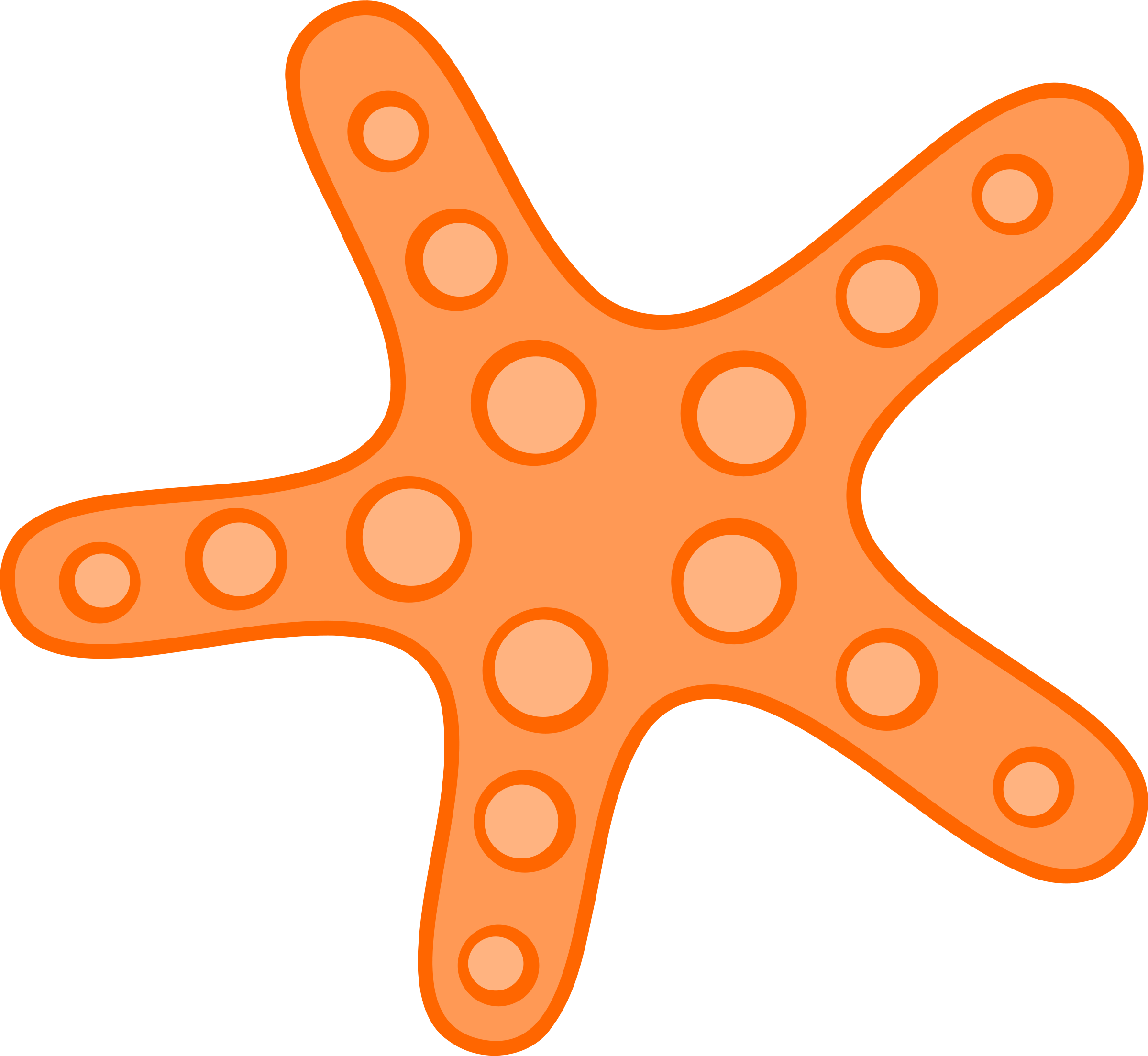 starfish clipart u0026middot; orange cli-starfish clipart u0026middot; orange clipart u0026middot; clipart starfish-9