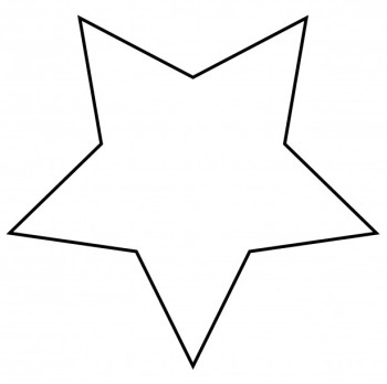 starfish clipart black and white. Free Star Clipart