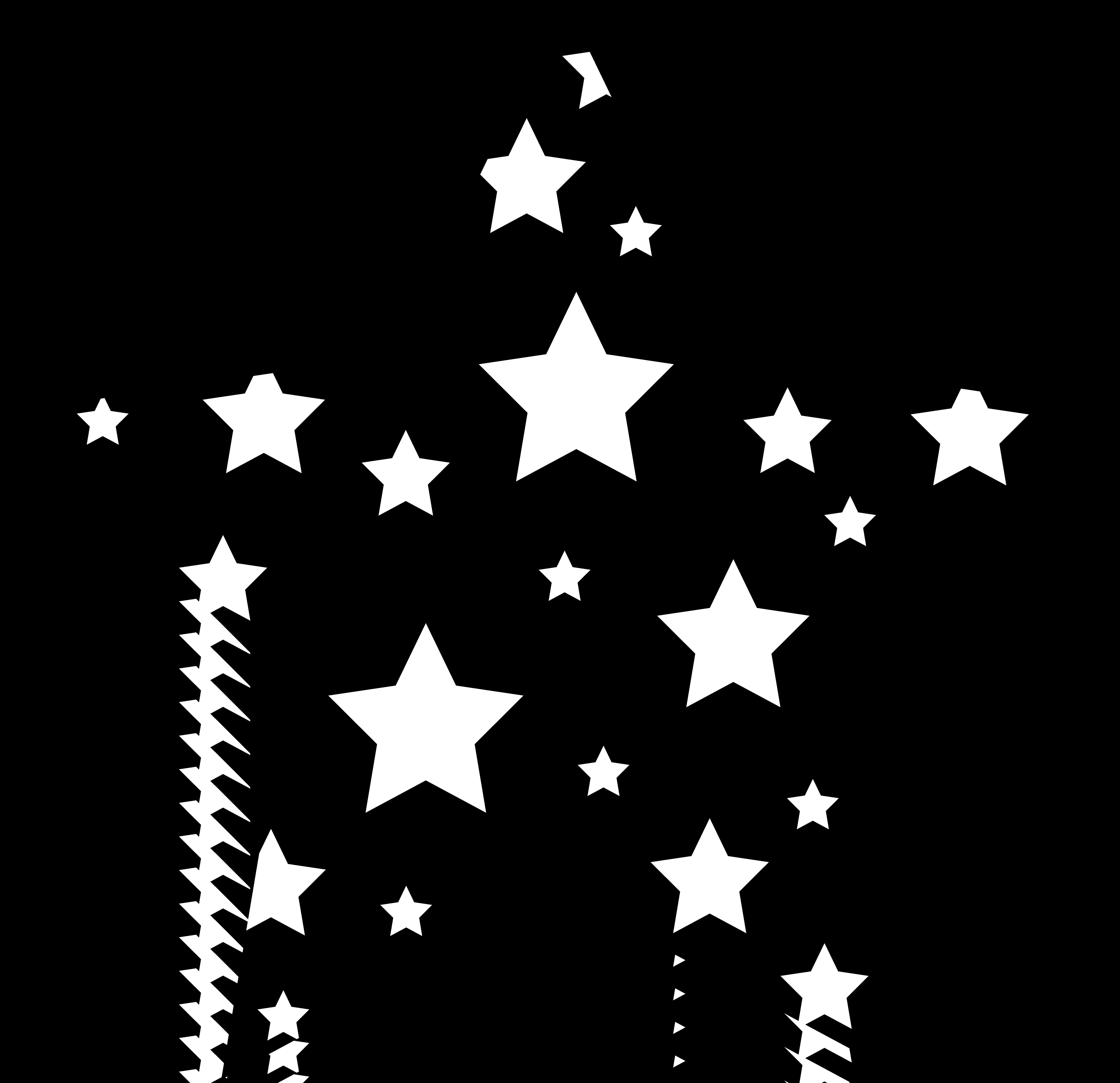 Stars Clipart Black And White .-Stars Clipart Black And White .-16