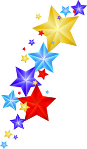 Stars Clipart Image - Shining .