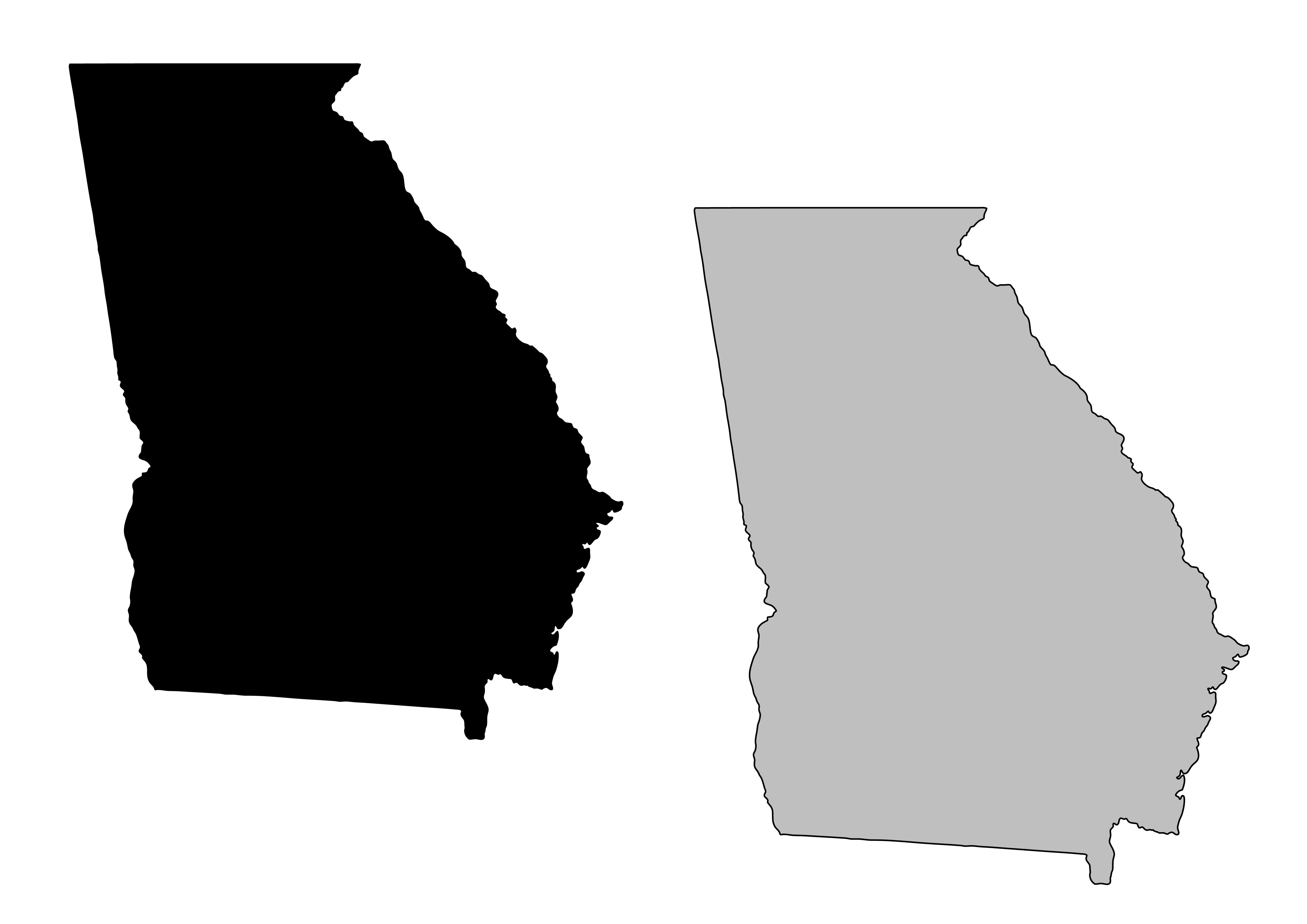 State Of Georgia Clip Art Images
