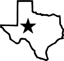 State Of Texas Outline Clipart .