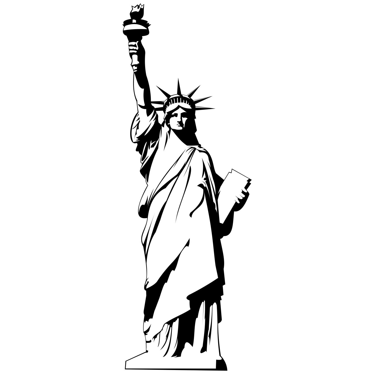 Statue Of Liberty Clip Art .. - Statue Of Liberty Clipart