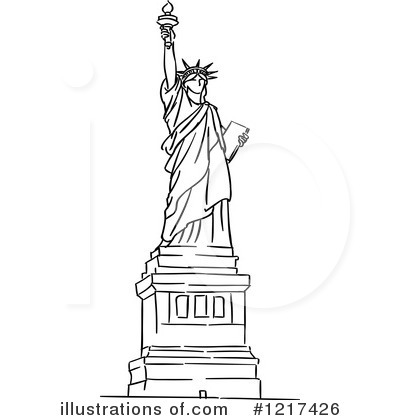 Statue Of Liberty Clipart .