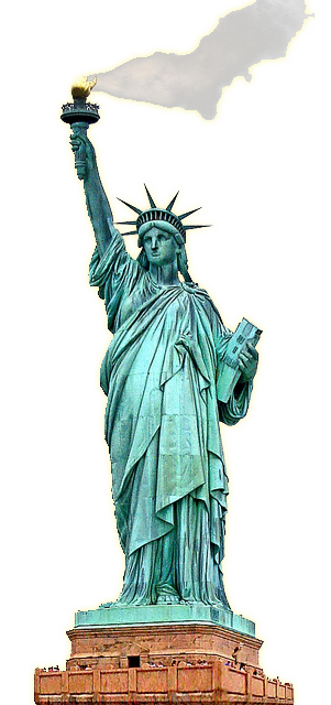 Statue Of Liberty2 - Statue Of Liberty Clipart
