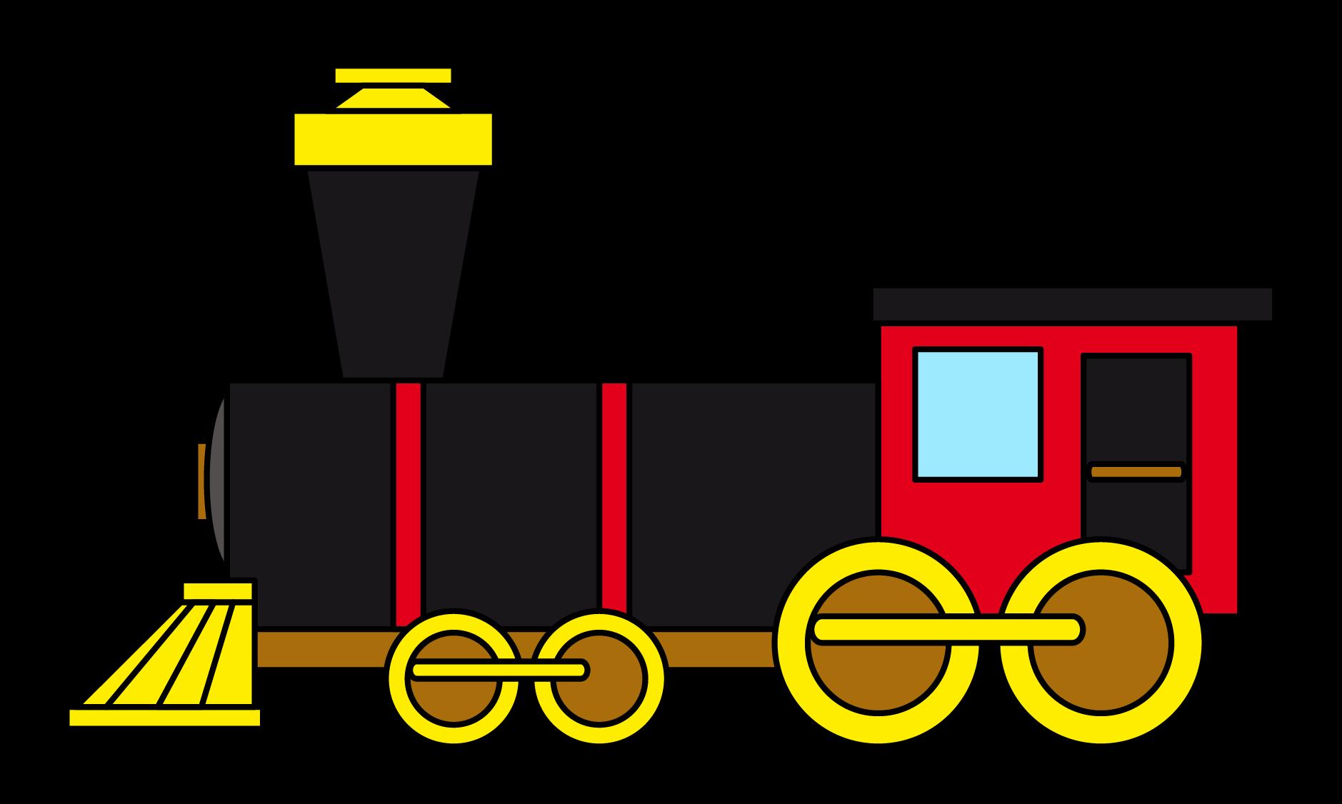 steam train engine clip art