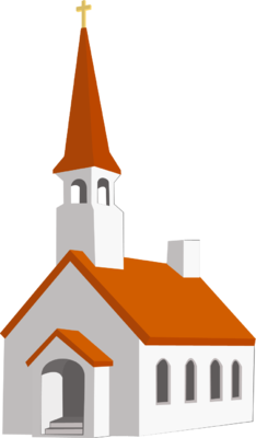 Steeple Church Clip Art. Steeple Church
