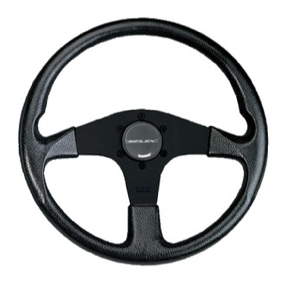 UFlex PVC Grip Spoke White Steering Wheel