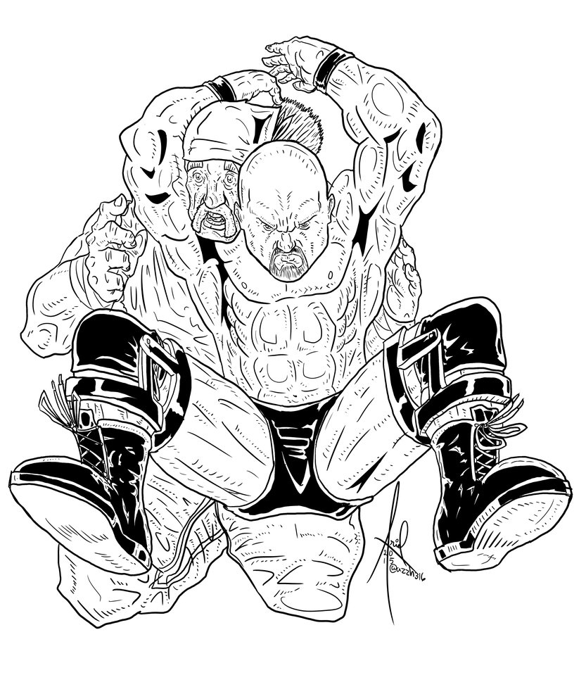 Stone Cold Steve Austin Inked by azzh316 ClipartLook.com