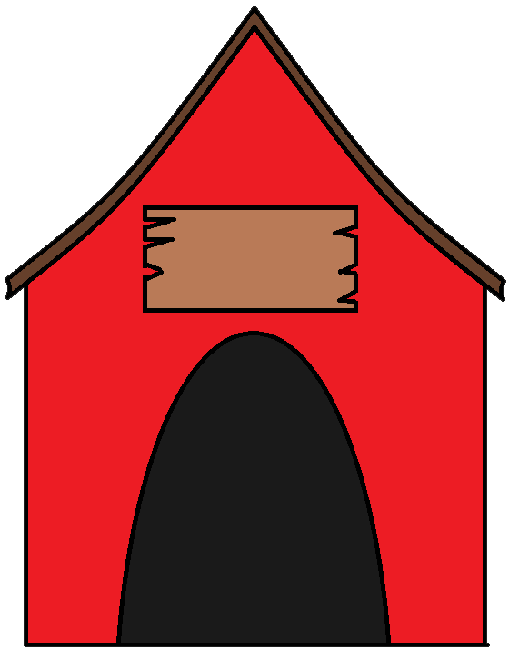 stick house clipart