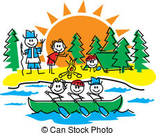 ... Stick Figure Family Camping - Stick figure family camping,.