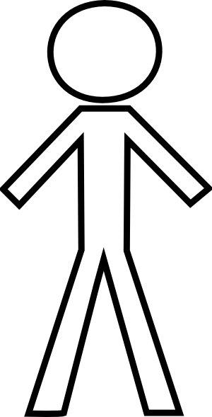 Stick figure stick man clipar - Stick People Clipart