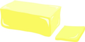 Stick Of Butter Clipart #1