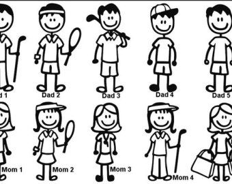 stick people clip art - Google Search