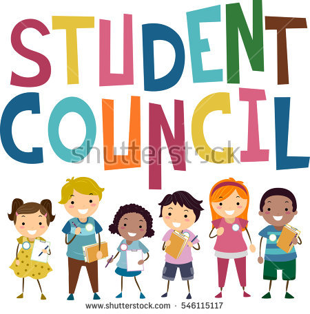 Stickman Illustration Featuring Preschool Kids Campaigning to Become Members of the Student Council
