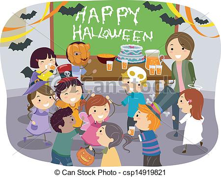 Stickman Kids School Halloween .-Stickman Kids School Halloween .-7