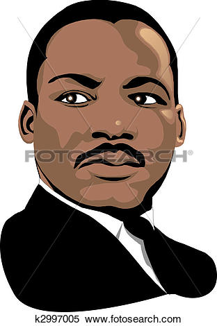 Stock Illustration - Martin Luther King. Fotosearch - Search Clipart, Drawings, Decorative Prints