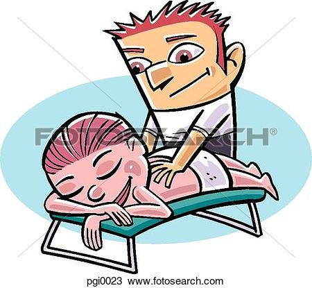 Stock Illustration of physiotherapy