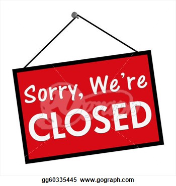 Stock Illustration We Are Closed Sign Cl-Stock Illustration We Are Closed Sign Clipart Gg60335445 Gograph-10