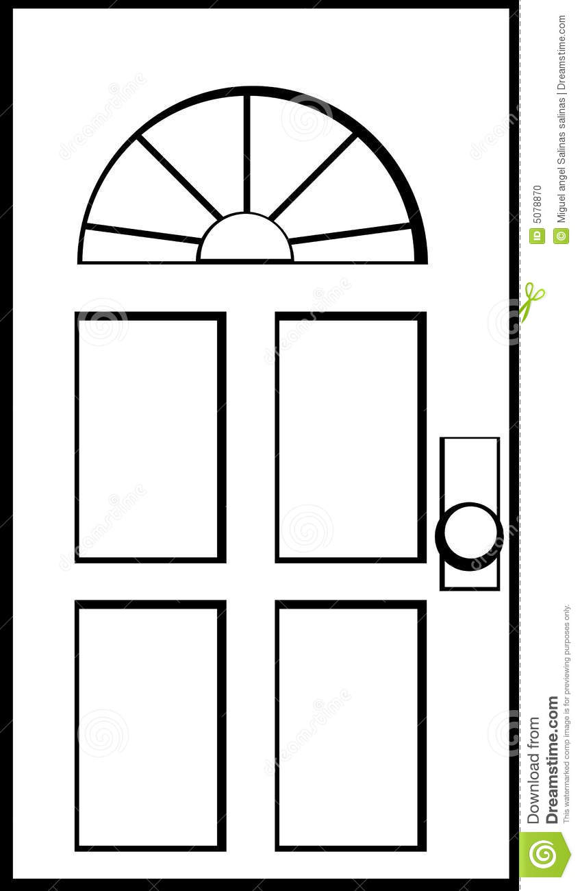 Stock Photo Door Vector .-Stock Photo Door Vector .-17